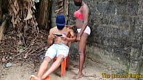 American male model relaxing gets to fuck a sweet black ebony babe with nice tits 2021 new outdoor 10 min