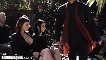 BurningAngel Marley Brinx Seduces A DILF Into Fucking Her During His Wife's Burial