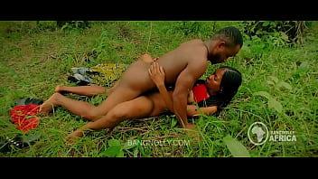 Bbw Ebony fulani teen get fucked by Farmer right in his banger farm - hot sex