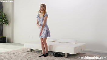 Petite Strawberry Blonde Girl With A PERFECT RACK!