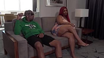 2 Big booties fuck big black dick