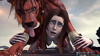 final fantasy red 13 feral sex animation