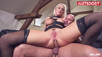 HER LIMIT - (Blanche Bradburry & Mike Angelo) Slutty Czech MILF Tries Rough Anal With A French Stallion