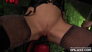 Only3x Presents - Cindy Behr and Dirty Dog in Anal - Toys scene - TRAILER