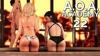A.O.A. Academy #22 - Shiny, glossy and wet Rebecca