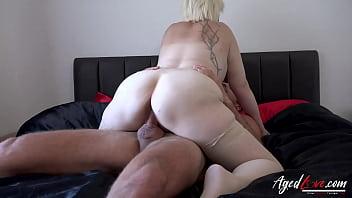 AGEDLOVE British Mature Using Hard Rough Sex