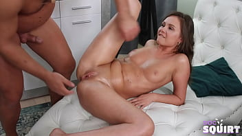 Gorgeous cutie goes to Doc to experience squirting orgasm