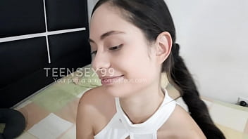 My stepdaughter tempts me to fuck her when her mom is not at home