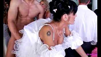 Czech wedding group sex