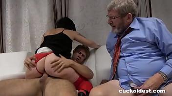 Grandpa Wants to Join - Cuckoldest