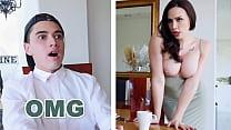 BANGBROS - Juan El Caballo Loco Fucks His Girlfriend's Busty Stepmom Chanel Preston
