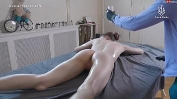 krassester Squirt nach Öl-Massage!