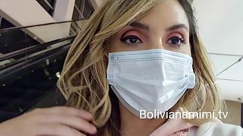Louquinha no supermercado pedindo pros machos me tocar a ppkinha.. Quer ver???.. BOLIVIANAMIMI.TV