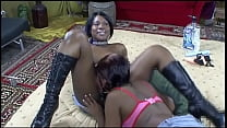 Lesbian Ebony Amateurs #5 - You can take the black bitch out of the ghetto, but you can't take the ghetto out of the black bitch