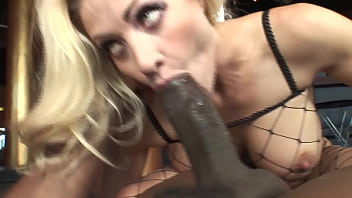 Pretty & pregnant babe gets fucked in the kitchen