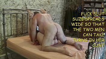 Suzi the whore gets her reward