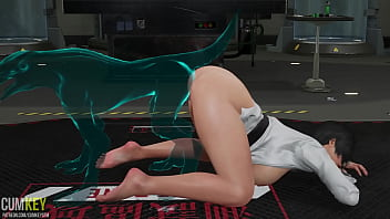 Two Sluts Babes Fuck with Monster Ghost   3D Porn Hentai   Fallen Doll