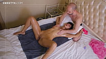 ANAL in a MASSAGE parlor with a slim indian beauty and Jean-Marie Corda