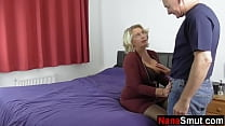 Mature wife invites neighbor for anal sex 8 min