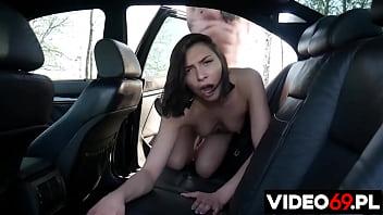 Polskie porno - Samochodowe bzykanko