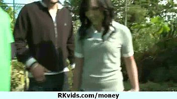 Horny schoolgirl bitche having sex for money 30