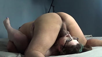 I Convince my Secretary to Let me Face Fuck her for a Raise and she Let's me Cum Balls Deep in Her Too 5 min