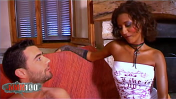 Priska Farel stunning petite black french babe gets ass fucked by Phil Hollyday