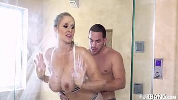 Julia Ann Her Shower Time Bang