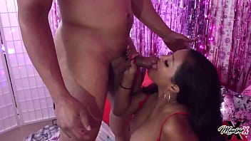 Masturbating Asian Maxine X Gets A Big Angry Cock In Her Pink Holes!