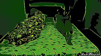 Me Follo a la Hermosa Esposa de mi Hermano Mientras el esta Durmiendoo Parte 1 - Version Cartoon