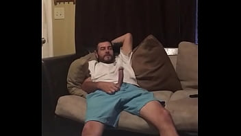 Jerking off infront of aunt 2 min