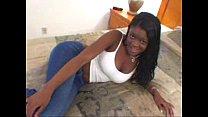 Young Black Teen w Big Tits in Ebony Blowjob Amateur Video