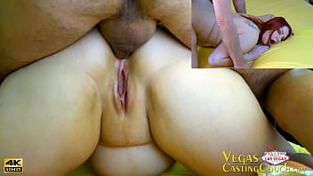 MILF Does Deep Anal Deep-Throat and Reverse Cowgirl During Casting In Vegas