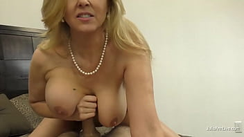 Potty Mouth Cougar Julia Ann Gives You The Ultimate Dick Milking POV!