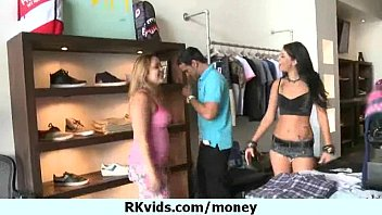 Sexy girl loves sex and money 5