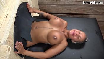 Cristina Cielo gets fucked and fisted in female gloryhole!
