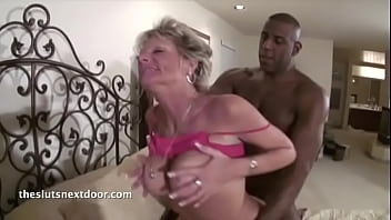 Granny fucks her trainer