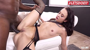 LETSDOEIT - Freya Dee, Mike Chapman - First Time Anal Sex With A Huge Black Cock Makes Her Cum Like Crazy