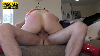 Real submissive ho gets pussy toyed