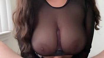 Titty fuck cumshot