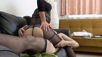 Perverted nylon couple in fetish frenzy! 38 min