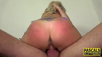 Submissive slut throating Pascale