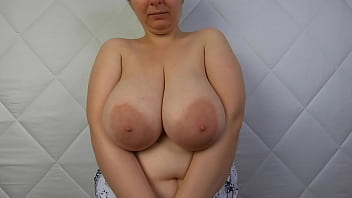My huge boobs in normal and slow motion