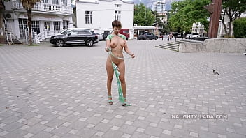 I've ripped my dress off and get naked in public