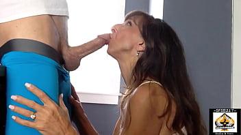 Hot Granny Big Cock Blowjob 12 min
