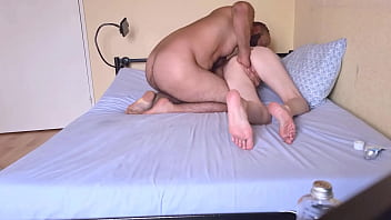 FISTING SESSION FOR SEXY BLONDE WITH BIG TITS 7 min