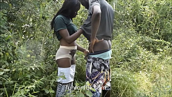 Fucked queen raw in the bush