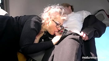 Horny Granny can't wait to cum 10 min