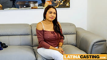 Latina auditions for wild rough hardcore fuck 5 min