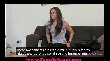FemaleAgent Pleasuring an agent